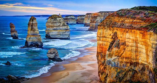 Hugging the cliffs of the Southern Ocean, The Great Ocean Road is considered one of the world's most scenic drives