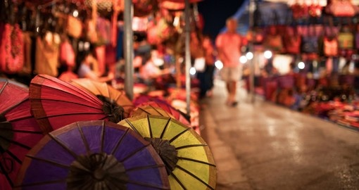 Lao umbrellas