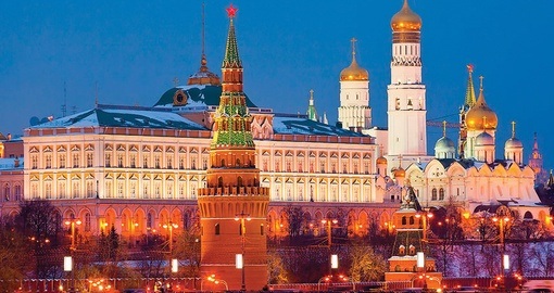 Explore Moscow on your next Russia vacations.