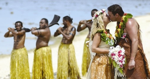 Have your wedding in the traditional Fijian way at the Outrigger on the Lagoon can offer during your next trip to Fiji.