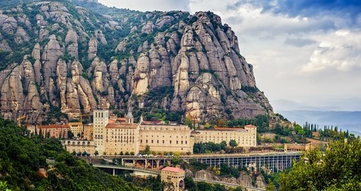 Explore Montserrat Moutain on your next Spain holidays.