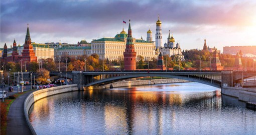 Experience the seat of Russian power with a visit to the Kremlin