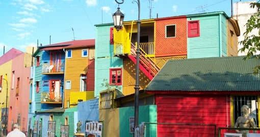 Visit La Boca District, Buenos Aires on your Argentina Vacation
