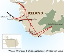 Winter Wonders and Delicious Detours Self Drive: Iceland