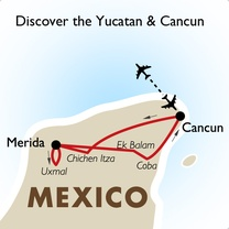 Discover the Yucatan & Cancun