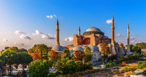 An architectural gem, Hagia Sophia has played an important role in both the Byzantine and Ottoman Empires