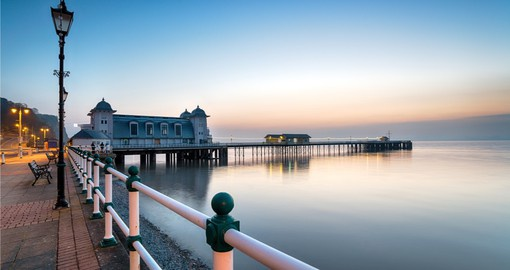 Experience the port of Cardiff and the Penarth pier on your Wales Vacation