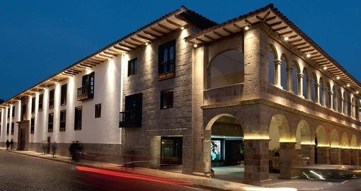 Stay at the JW Marriott Hotel Cusco on yoru Peru Tour