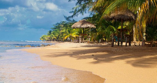 Roatán is a diving and snorkeling paradise with exquisite white-sand beaches