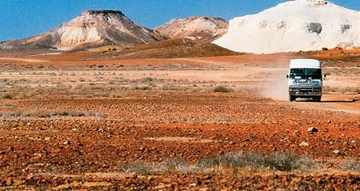 Travel The Outback Mail Run from Coober Pedy as part of your Australia Vacation