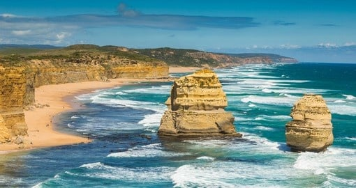 Apollo Bay in Victoria is one of the highlights of Australian tours