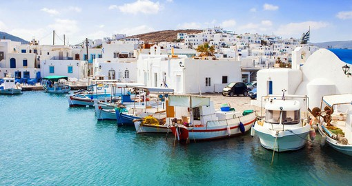 Paros is renown for it's white marble which was used to create the Venus de Milo and Napoleon's tomb.