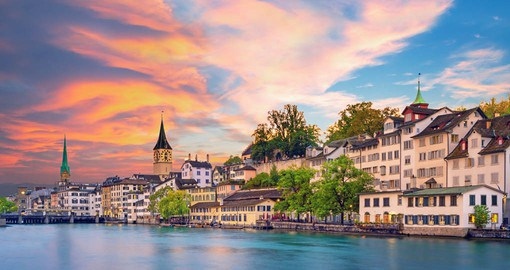 A global financial centre, Zurich is Switzerland's largest city