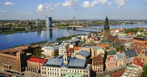 Visit the old town of Riga on your Latvia vacation