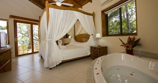 Relax in a Tango Mar suite on your trip to Costa Rica