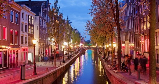 The canals of Amsterdam - a great photo opportunity on all Netherlands tours.