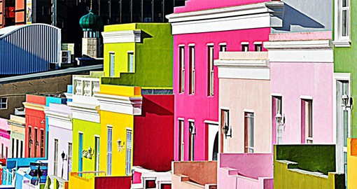 The Bo-Kaap is one of Cape Town's most distinct neighbourhoods and dates to the 1760's