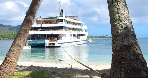 Explore Blue Lagoon Cruises on your next Fiji vacations.