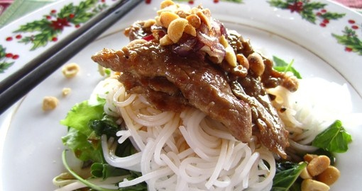 Enjoy traditional Vietnamese cuisine on your Asian Tour