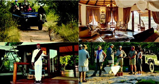 Game Drive, Luxury accommodation, Sundowners, Welcome