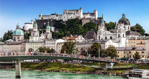 Salzburg and the Fortress Hohensalzburg on your European Tour