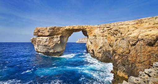 Azure window on Gozo Island