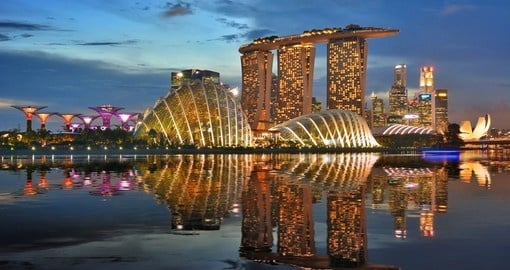 Marina Bay can be visited on your singapore vacation package
