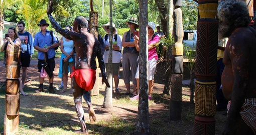 Learn about the culture and history of the Tiwi people on your Australia Vacation