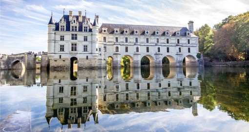 Renown for fine wine, the Loire Valley is also home some of France's most opulent chateaux