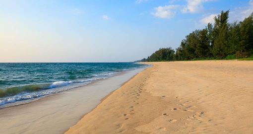 Stroll the beach on your Thailand Tour