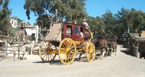 Stagecoach in Sovereign Hill