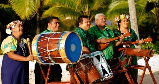 Experience exciting and ancient traditions on your Cook Islands Vacation