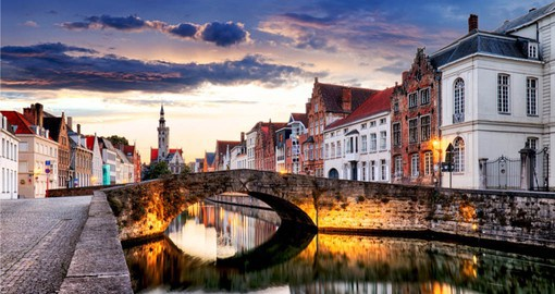 Travel to charming Bruges on your trip to Belgium