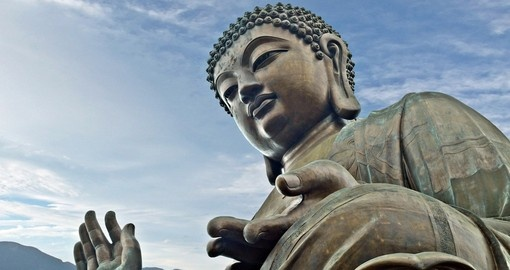 Historically Buddhism has been the religion of Hong Kong