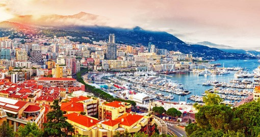 The world's second-smallest country, Monaco is a magnet for high-rollers