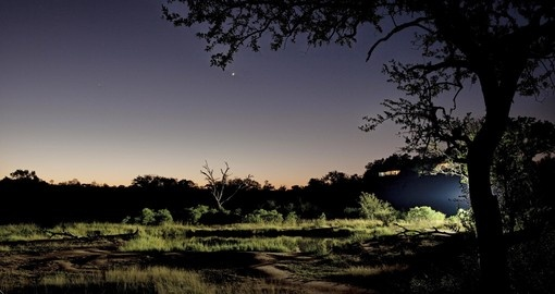Enjoy spectacular night skies out in the bush