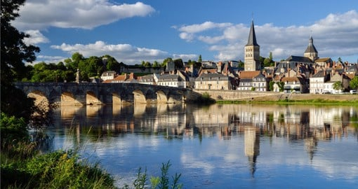 La Charité-sur-Loire was founded about the seventh century and was originally named Seyr (City of Light)