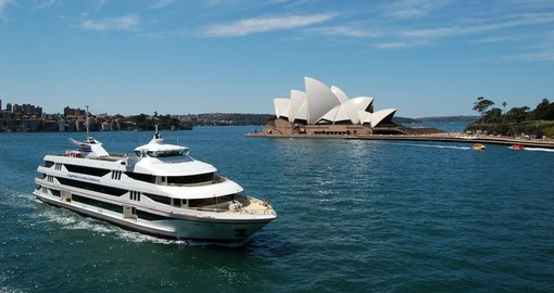 Your Australia vacation includes a Sydney Harbour Cruise.
