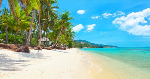 Bask in the sun on Bang Po Beach on your Thailand vacation