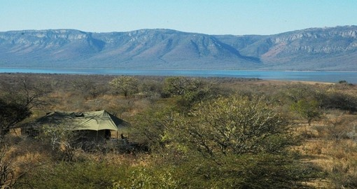 Secluded and private luxury tents makes this South Africa vacation unforgettable.