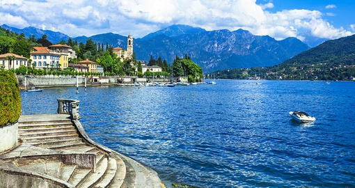 Enjoy the relaxed pace of Lake Como on your trip to Italy