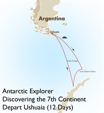 Antarctic Explorer: Discovering the 7th Continent Depart Ushuaia (12 Days)