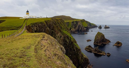 Famous for its birds, knitwear and historic shipwrecks, Fair Isle is a tiny island, half-way between Orkney and Shetland