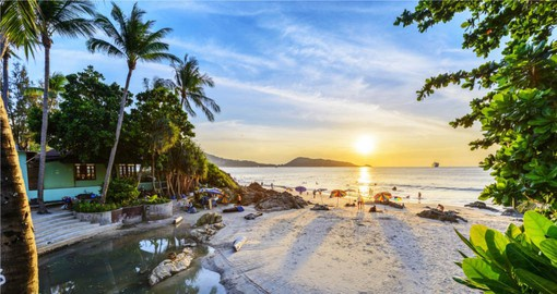 Phuket is known for its outstanding beaches, perhaps the best in Thailand