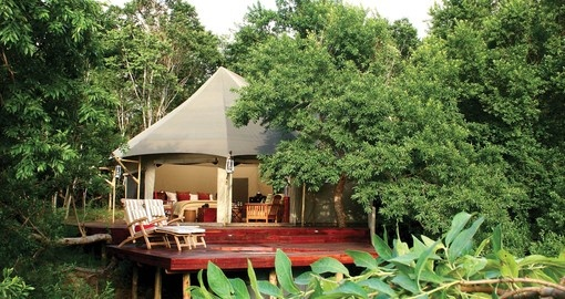 Stay in the Nkomazi Game Reserve during your South African tour.