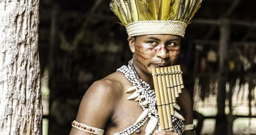 Tribe ritual in The Amazon