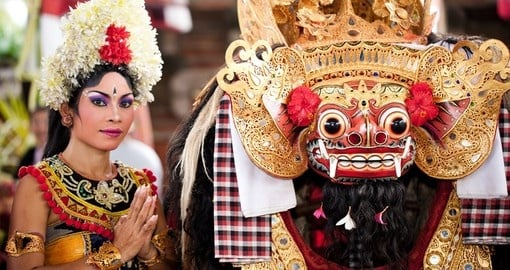 Barong Dance - the traditional Balinese performance