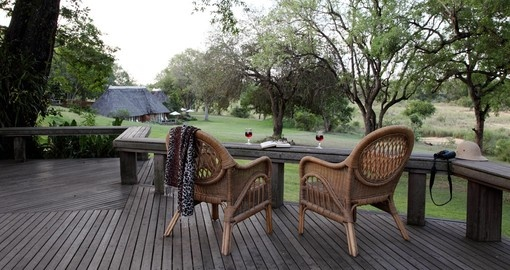 Explore all the amenities Mala Mala Main Camp can offer on your next trip to South Africa.