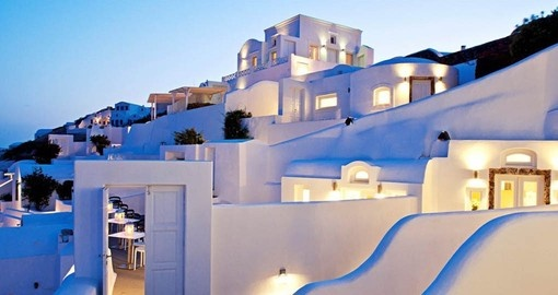 Canaves Oia Hotel is your home on Santorini on your Greek Vacation