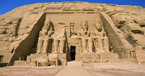 Abu simbel temple of Rameses ii